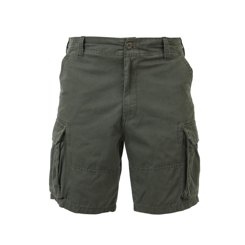 ROTHCO VINTAGE CARGO SHORTS - OLIVE