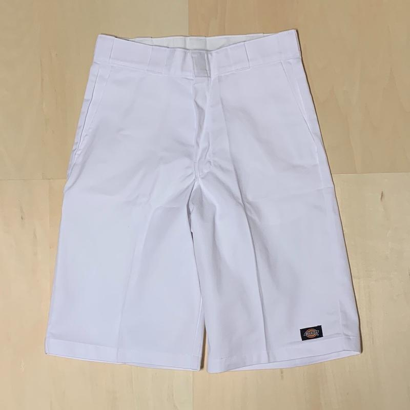 DICKIES TWILL SHORT LOOSE FIT - WHITE