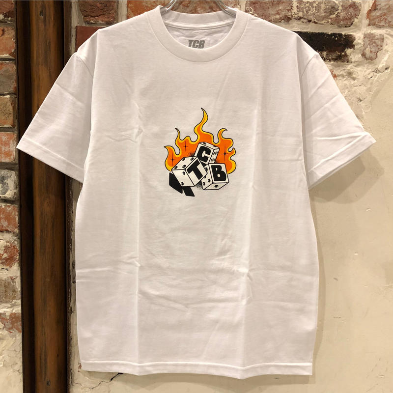 Tall Can Boys Dice Tee - White