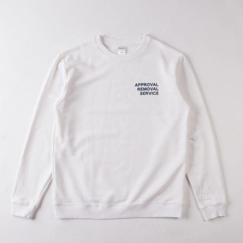 GRIND LONDON A.R.S. SWEATSHIRT - WHITE