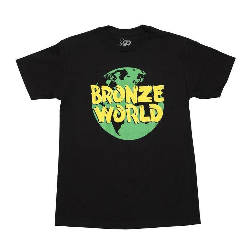 BRONZE WORLD TEE BLACK