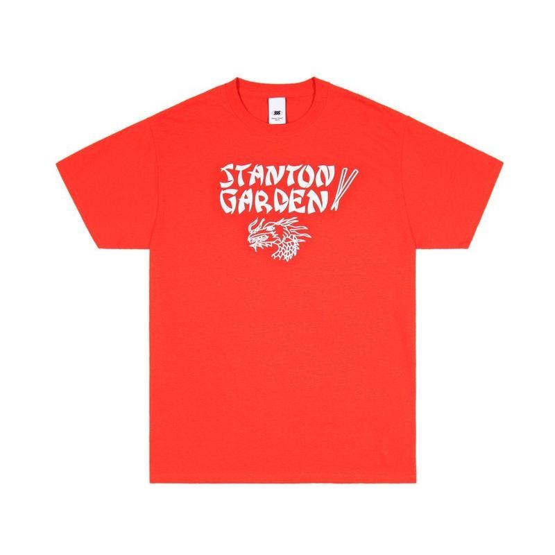 STANTON STREET SPORTS GARDEN TEE - RED