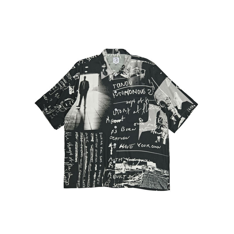 POLAR SKATE CO ART SHIRT STRONGEST NOTES - Black