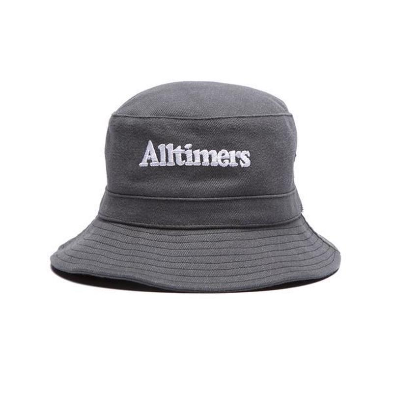 ALLTIMERS NEIGHBORS BUCKET HAT BLACK