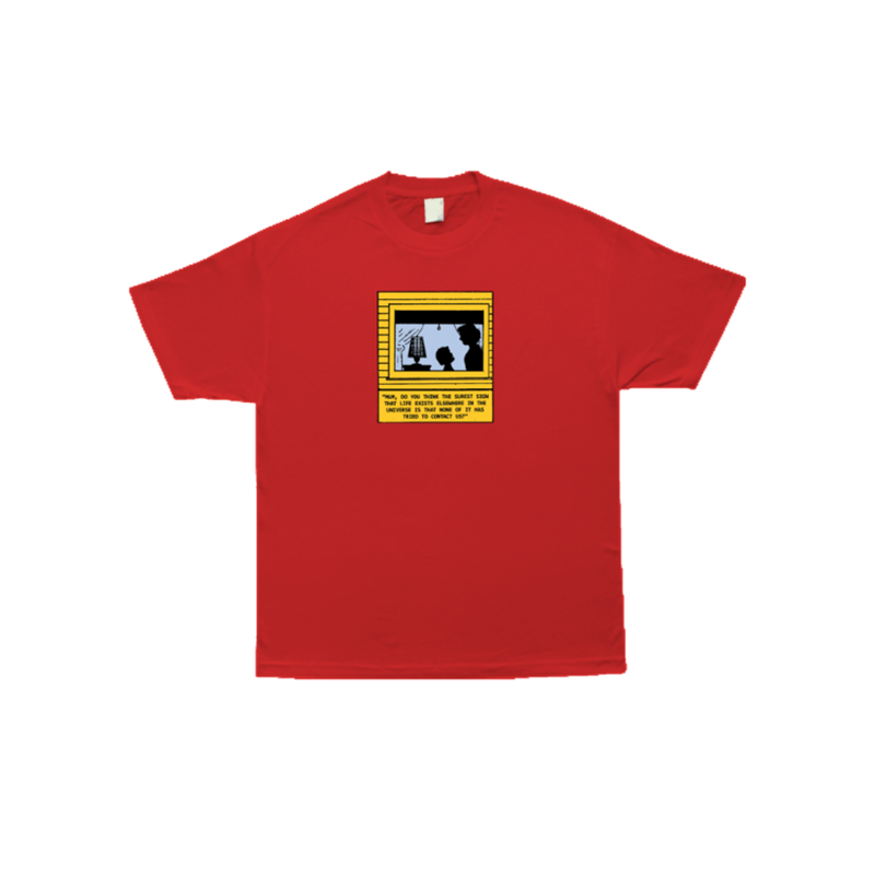 COME SUNDOWN CONTACT S/S TEE - RED