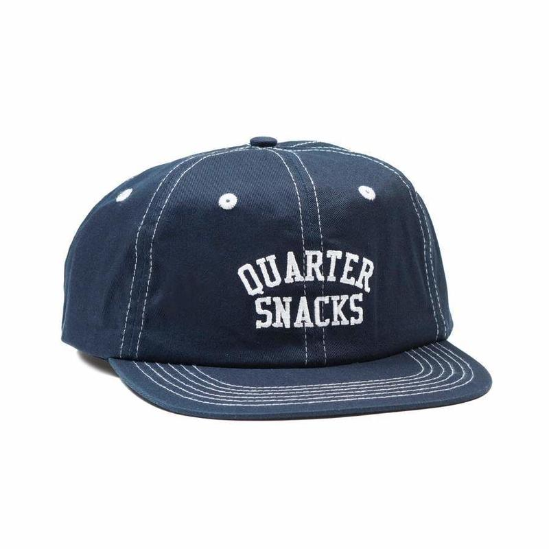 QUARTERSNACKS ARCH CAP - Navy/Stitch