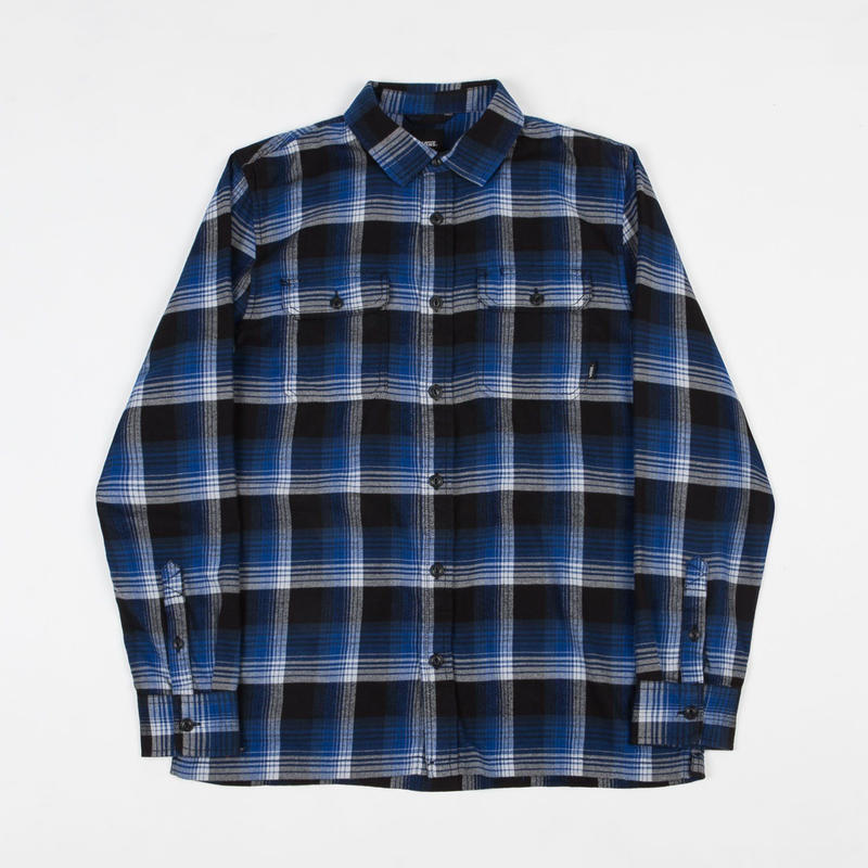 VANS x ANTI HERO WIRED FLANNEL SHIRT - ROYALSHADOW