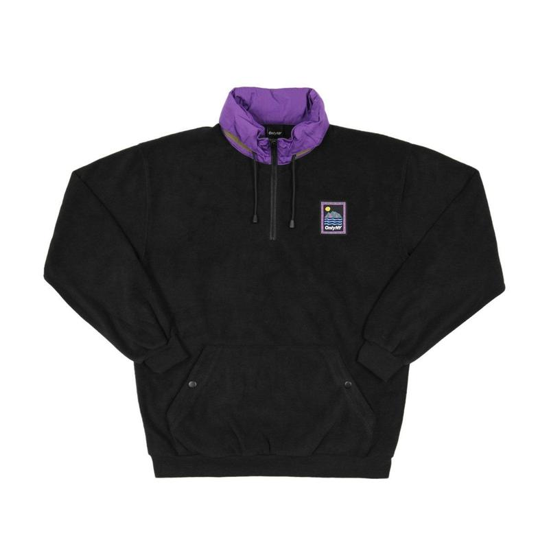 ONLY NY Outdoor Gear Fleece Pullover - Black