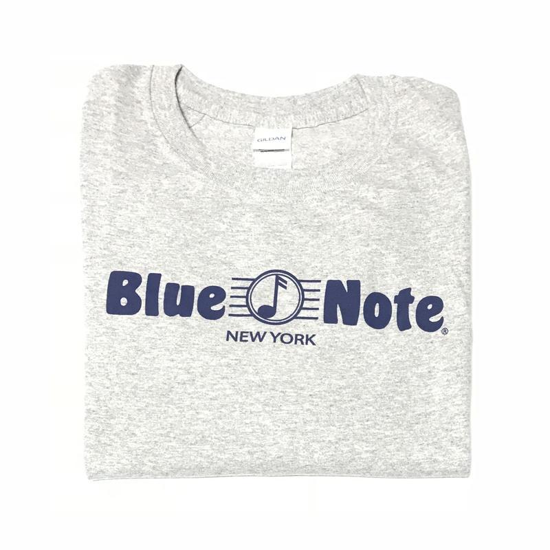 BLUE NOTE TEE - GREY