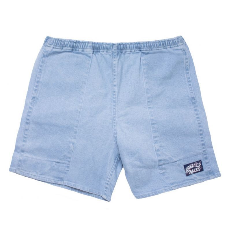 QUARTERSNACKS DENIM SHORT - L.Blue