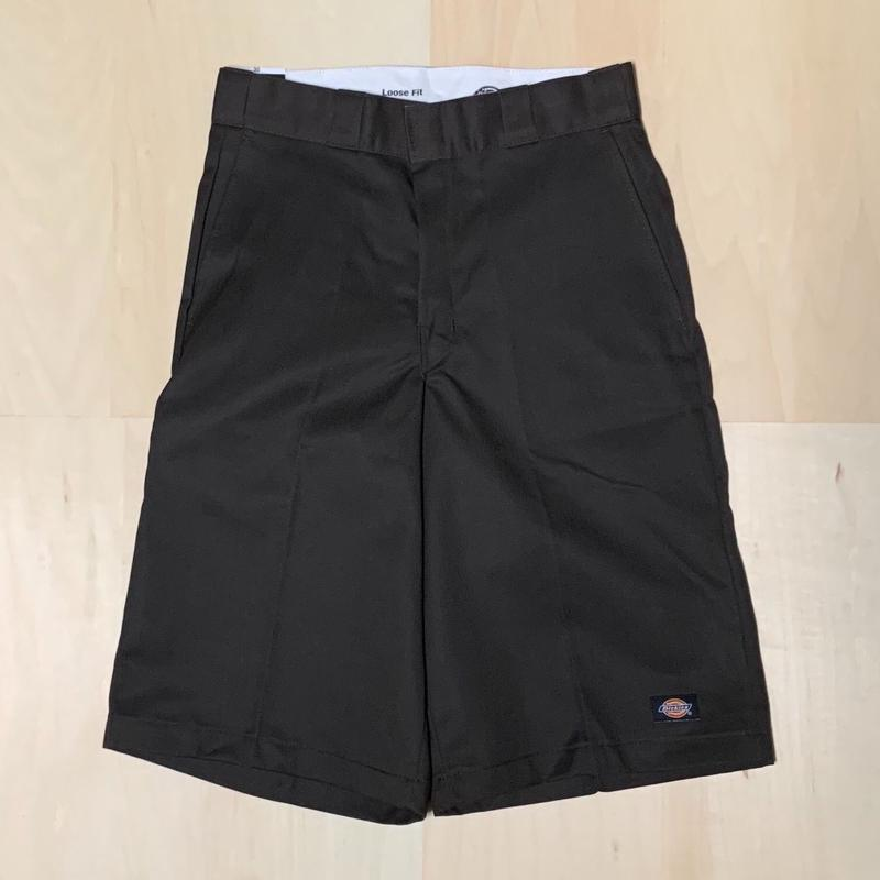 DICKIES TWILL SHORT LOOSE FIT - DARK BROWN