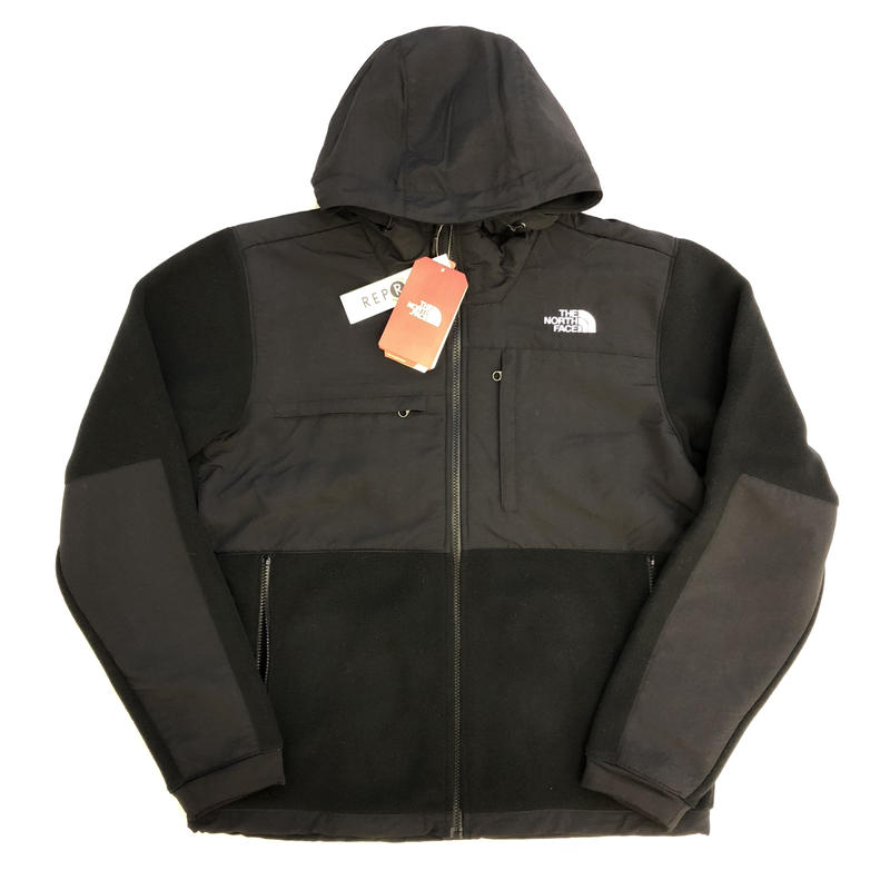 THE NORTH FACE DENALI 2 HOODIE JACKET - BLACK
