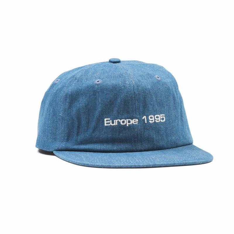 QUARTERSNACKS EURO CAP - D.Denim
