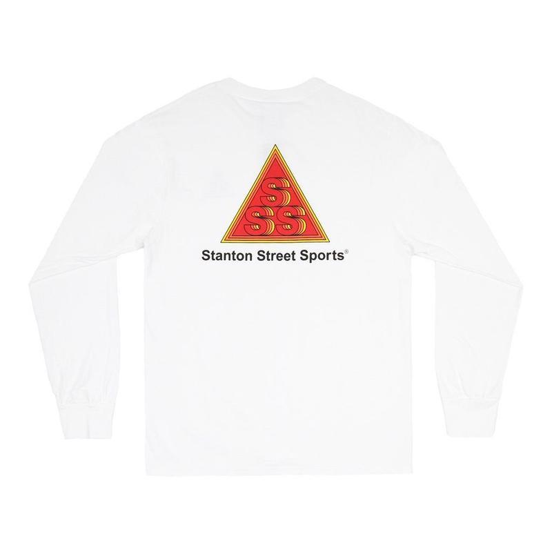 STANTON STREET SPORTS INFINITY L/S TEE - WHITE
