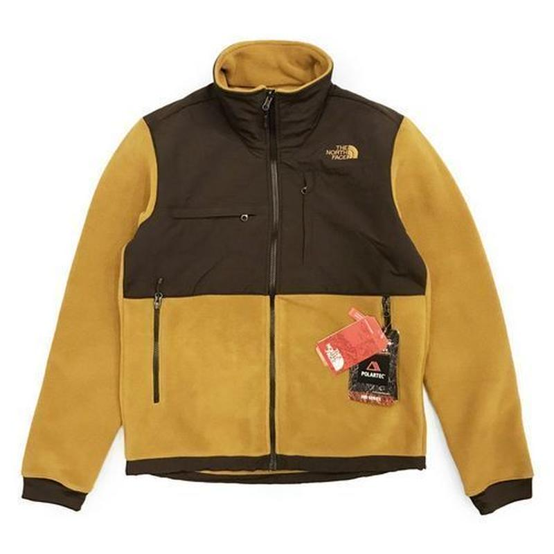 THE NORTH FACE DENALI Ⅱ JACKET - GOLD/BROWN