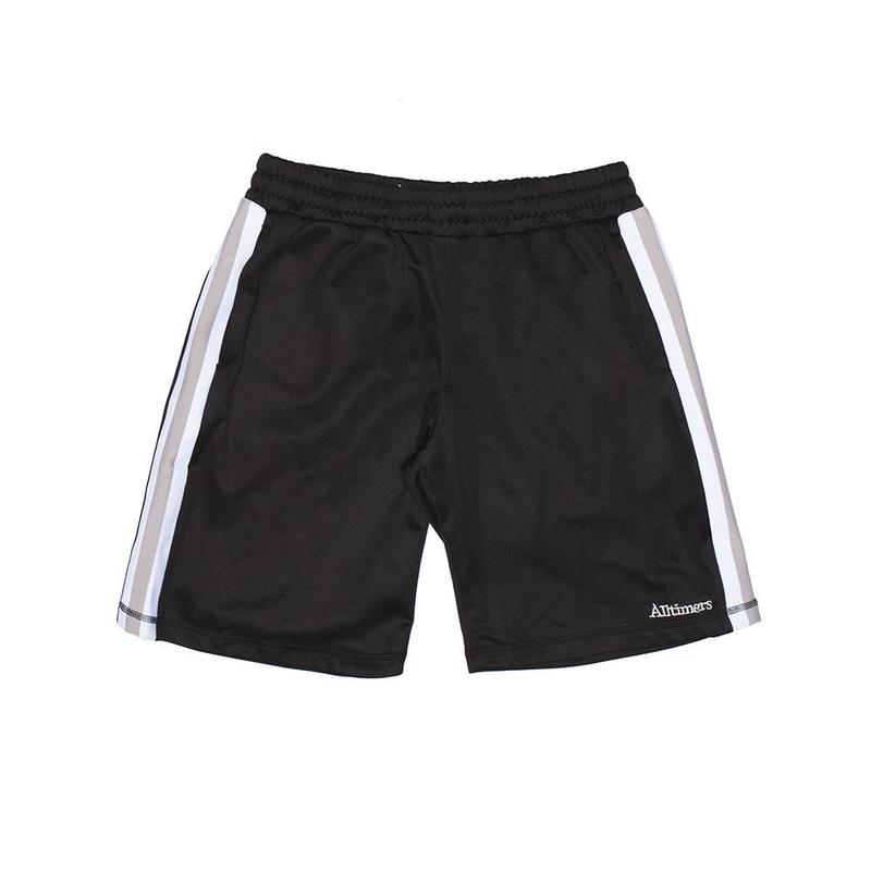 ALLTIMERS FOREIGN MESH SHORT BLACK