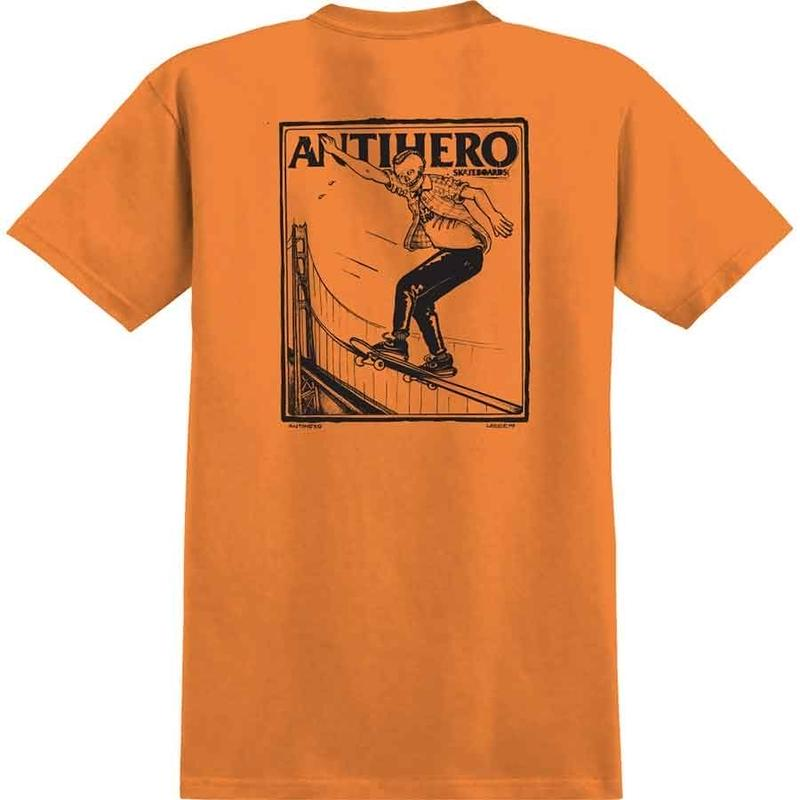 ANTI HERO LANCE GERWER TEE - ORANGE