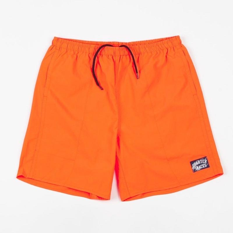 QUARTERSNACKS WATER SHORT - Neon Orange