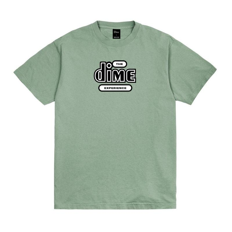DIME THE DIME EXPERIENCE T-SHIRT  - Washed Green