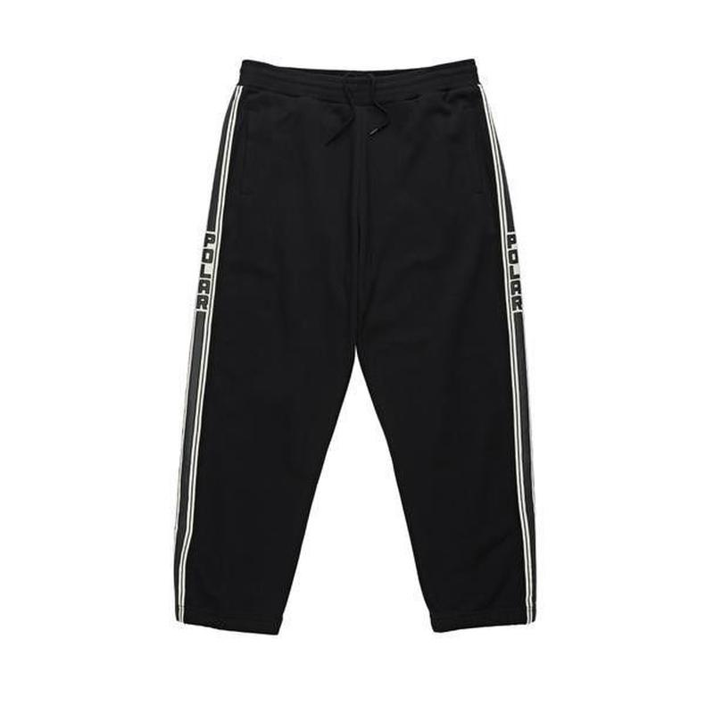 POLAR SKATE CO TAPE SWEATPANTS - Black