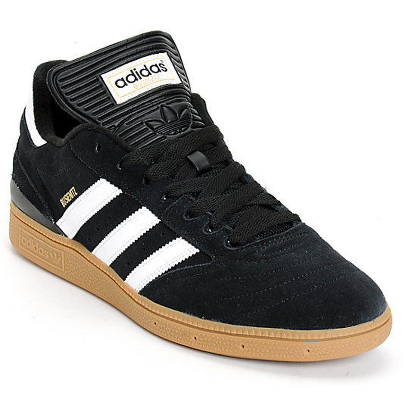 adidas skateboarding BUSENITZ PRO BLACK WHITE GUM