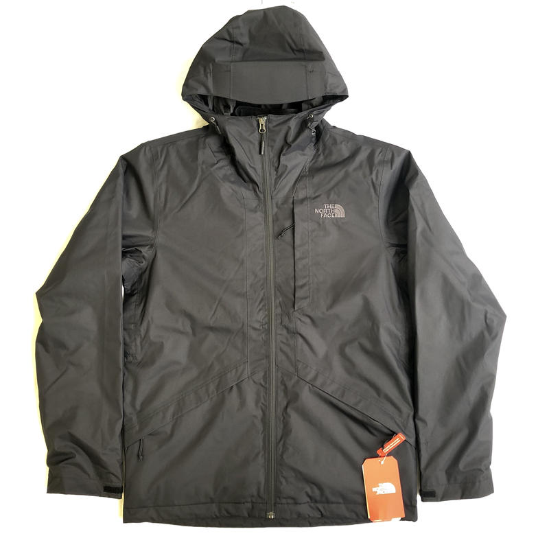 THE NORTH FACE PLUMBLNE TRICLIMATE JACKET - BLACK