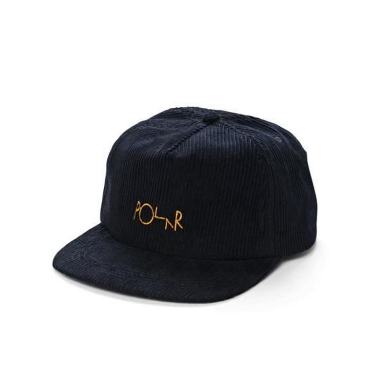 POLAR SKATE CO CORD 5-PANEL CAP Navy