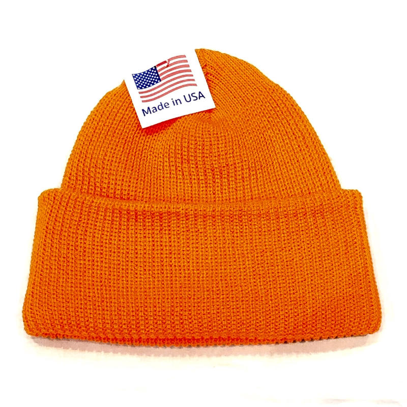 ROTHCO watch knit Cap ORANGE