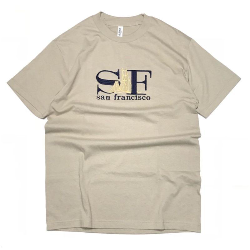SAN FRANCISCO  SOUVENIR SF TEE - SAND