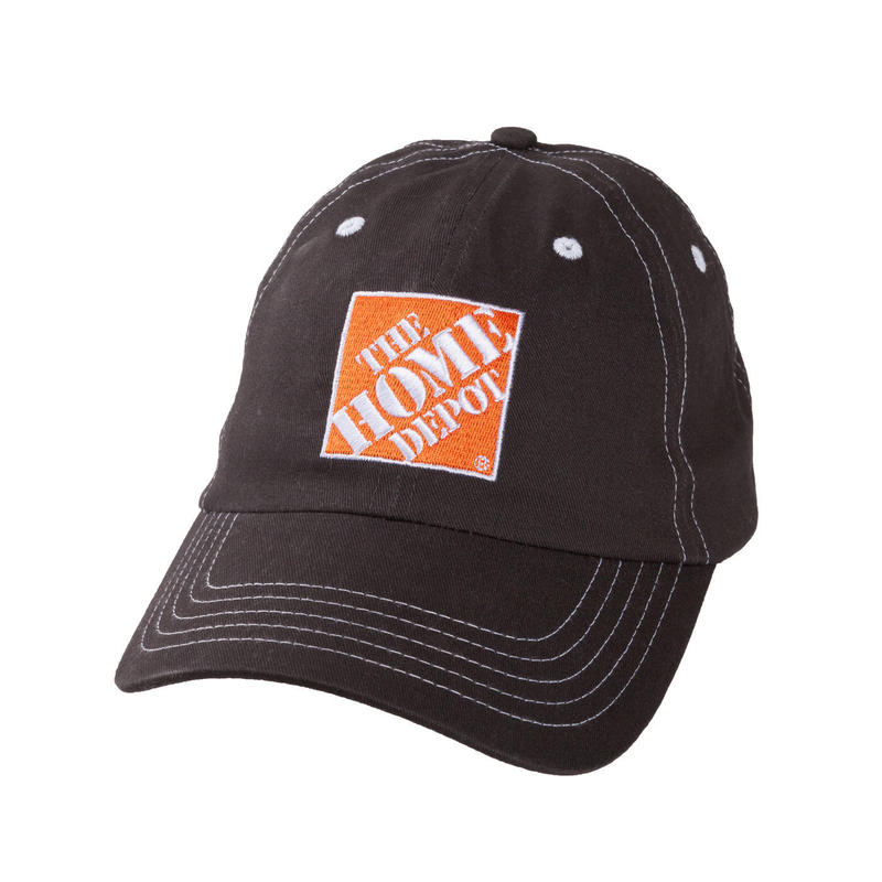 THE HOME DEPOT BRUSHED TWILL CAP - Charcoal