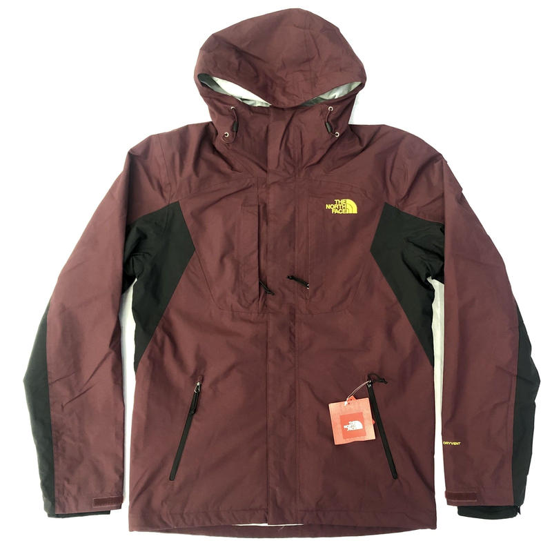 THE NORTH FACE CINDER TRI JACKET - MARRON/BLACK