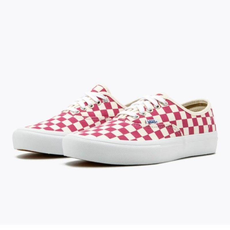 VANS AUTHENTIC PRO Checkerboard  - Fuchsia