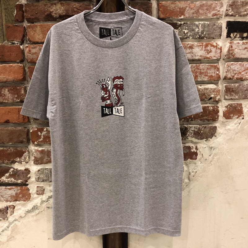 TALL TALE VISIONS TEE - GREY