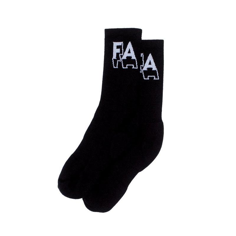 FUCKING AWESOME 3D SOCKS - Black/white