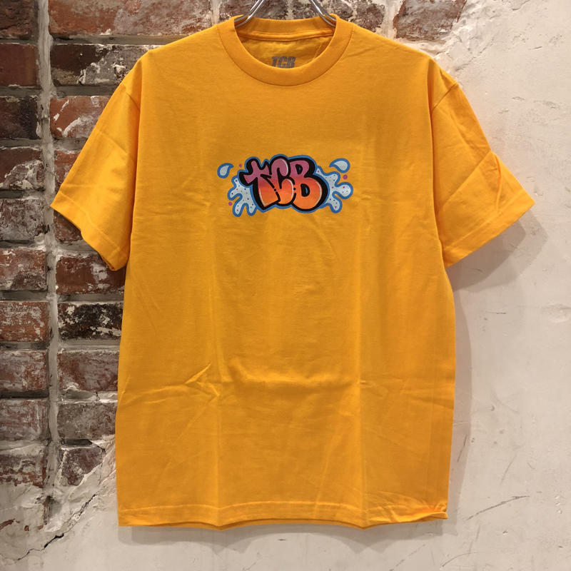 Tall Can Boys Bubble Letter Tee - Yellow