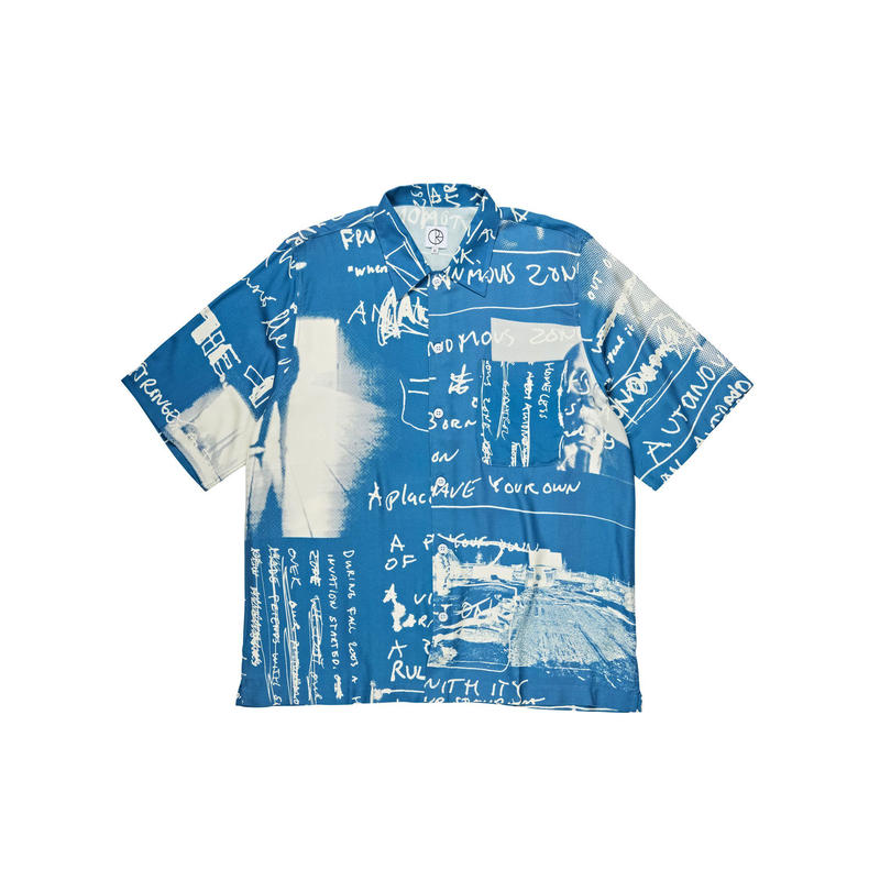 POLAR SKATE CO ART SHIRT STRONGEST NOTES - Blue