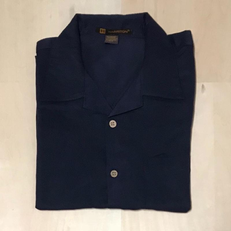 HARRITON CAMP SHIRT - NAVY