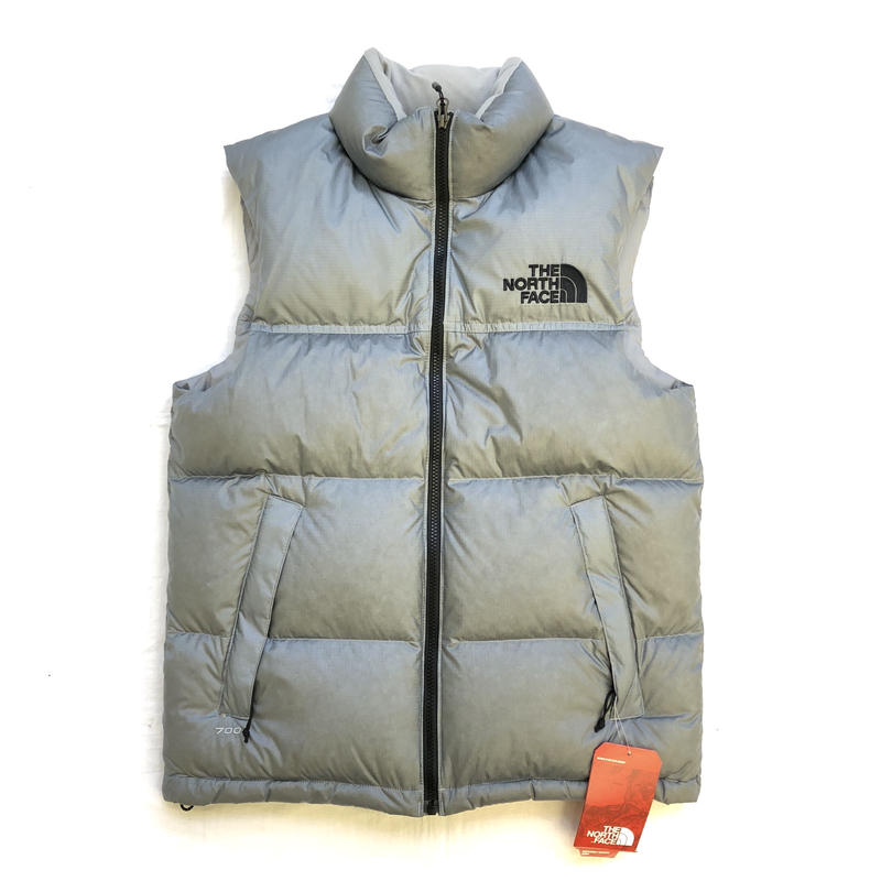 THE NORTH FACE x UO NOVELTY NUPTSE DOWN VEST - SILVER