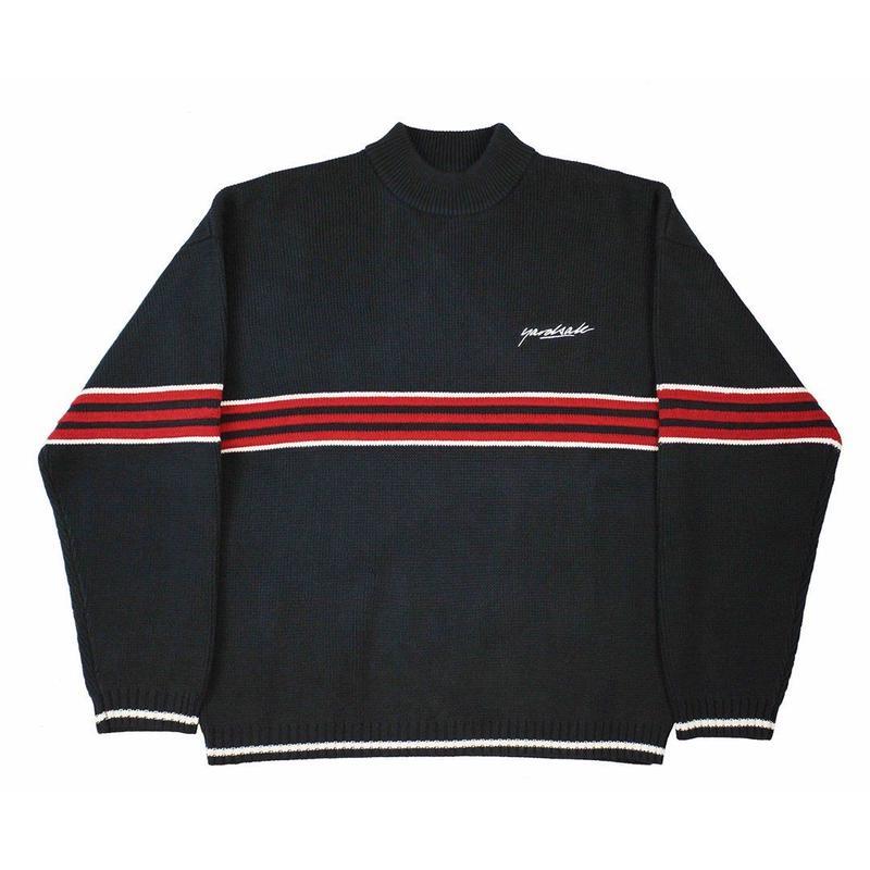 YARDSALE Pierre knitted Sweatshirt - Navy