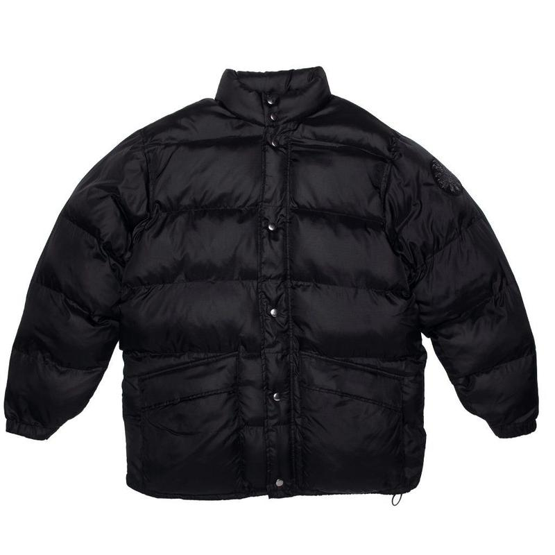 FUCKING AWESOME Spiral Down Parka-BLACK