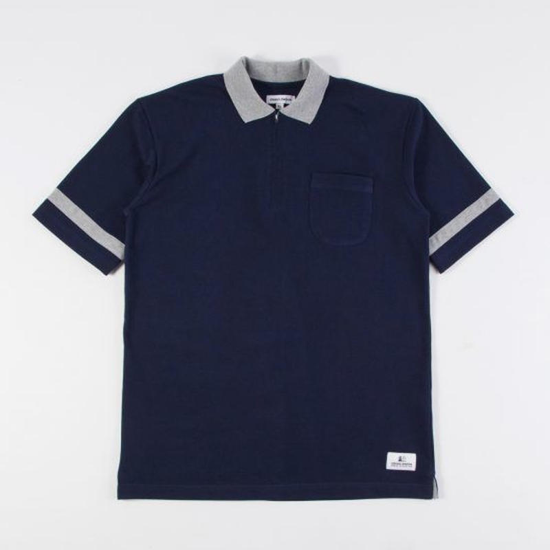 GRIND LONDON navy polo