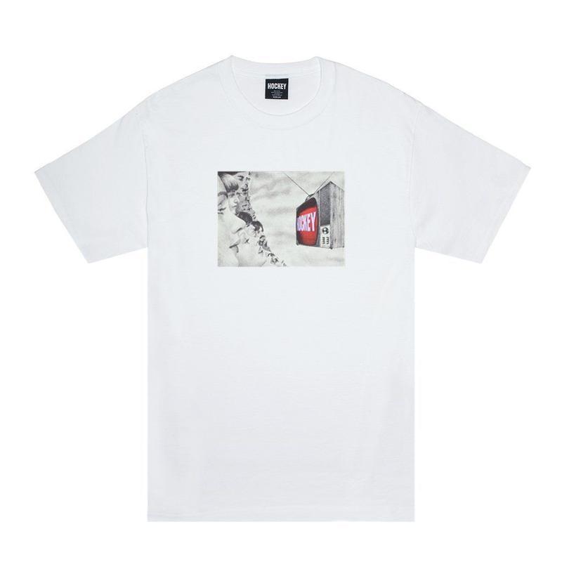 HOCKEY PRIMETIME TEE - WHITE