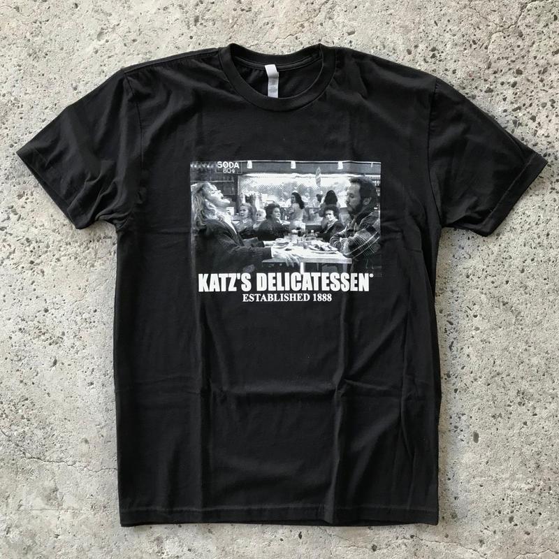 KATZ'S DELICATESSEN TEE - BLACK