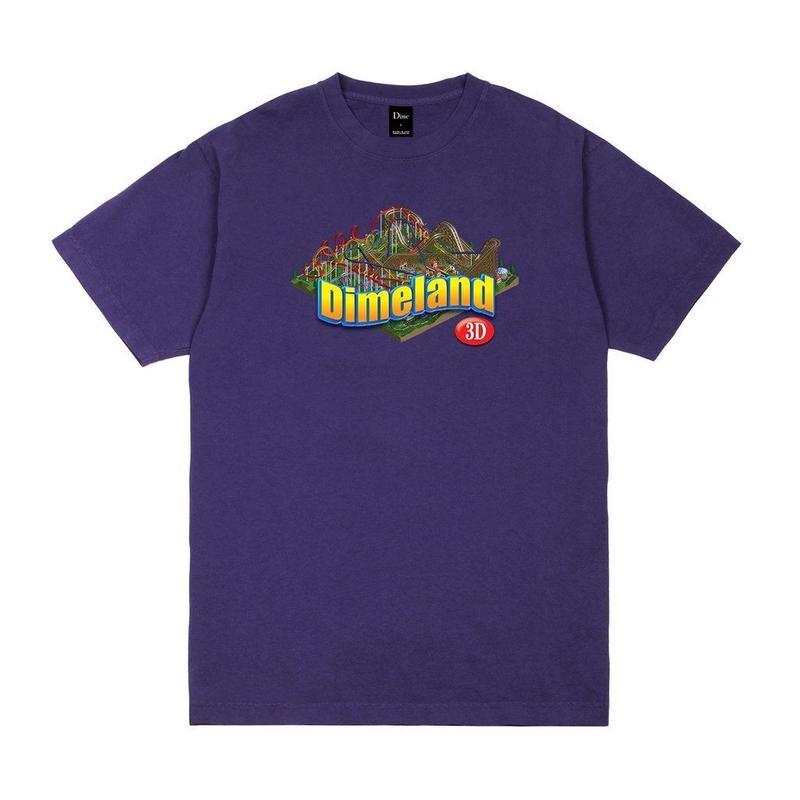 DIME  DIMELAND TEE - Purple