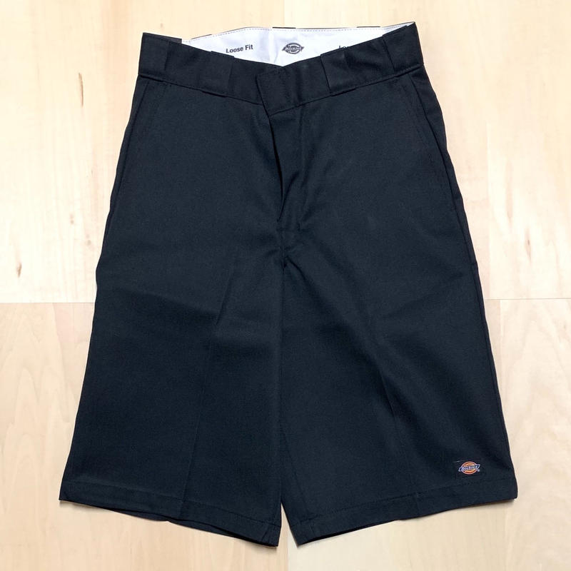 DICKIES TWILL SHORT LOOSE FIT - BLACK