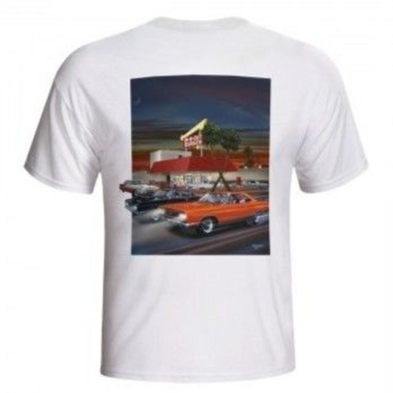 IN-N-OUT 2007 LOOKING BACK T-SHIRT - WHITE