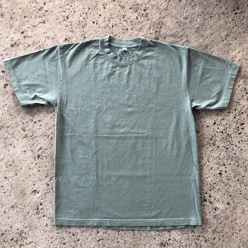 LOS ANGELES APPAREL 6.5oz Garment Dye Tee - Athletic Green