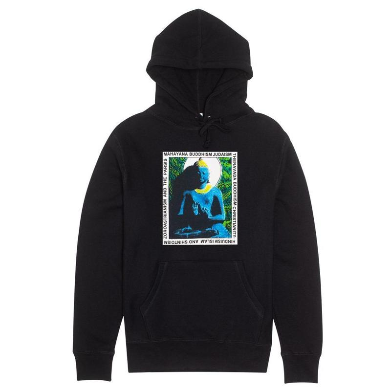 FUCKING AWESOME HIGHER POWER HOODIE - BLACK