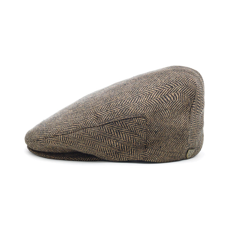 BRIXTON HOOLIGAN SNAP CAP - BROWN/KHAKI