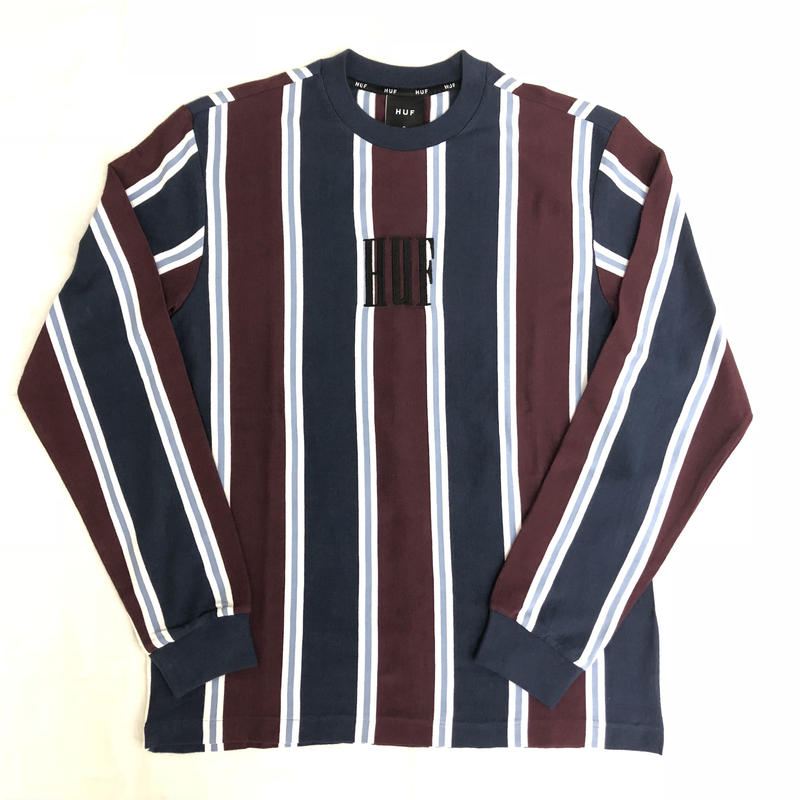 HUF ADIOS LONG SLEEVE SHIRT - PORT ROYALE